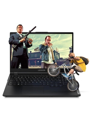 """Lenovo Lenovo Legion 5 81Y600NUTX04 i7-10750H 16GB 1TB+1TBSSD GTX1660Ti 15.6"""" FullHD FDOS Taşınabilir Bilgisayar Renkli"""